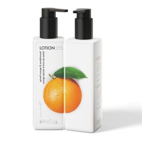 KINETICS Лосьон для рук и тела (Пряный апельсин и Сандаловое дерево) 250 мл