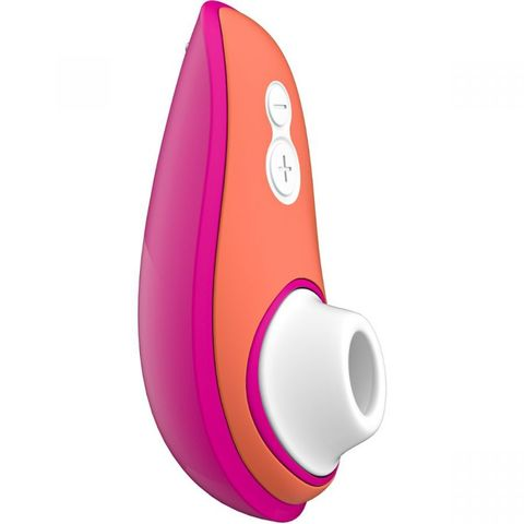 Ярко-розовый бесконтактный клиторальный стимулятор Womanizer Liberty