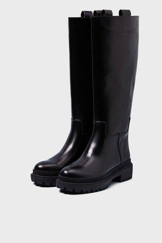 Женские черные сапоги BETTLE RAIN Pepe Jeans