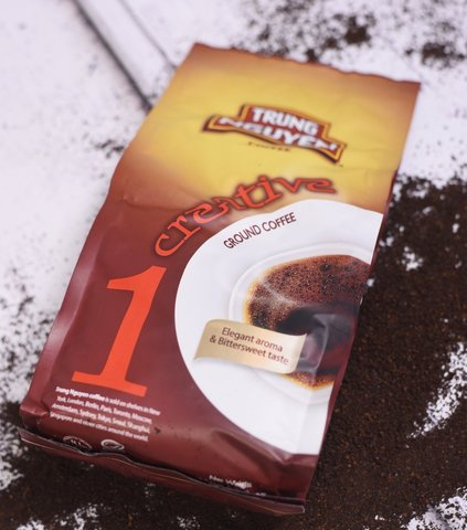 Вьетнамский молотый кофе Creative (Креатив) №1, Робуста, 250 гр.