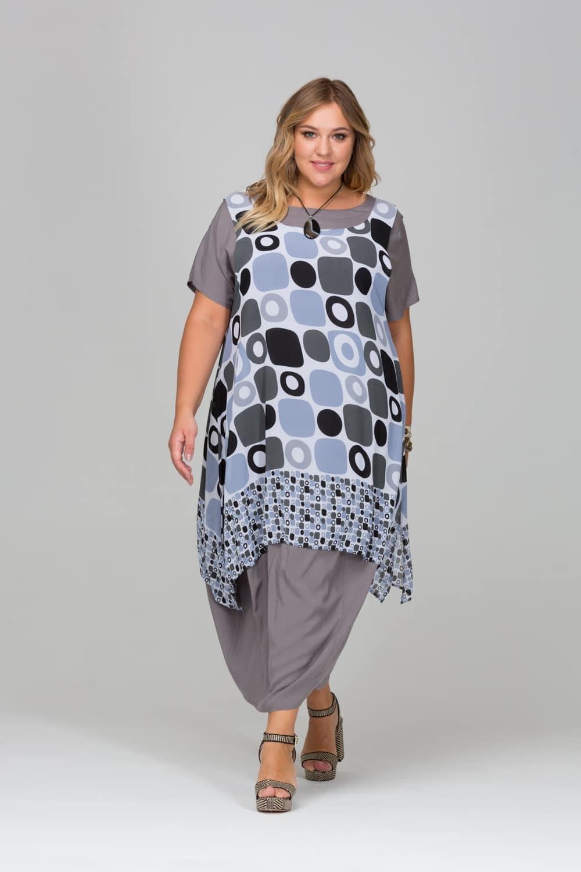 Платья Платье-кокон с шифоновой накидкой 417123 26670d87115ddd5787ec1495ea8954d9.jpg