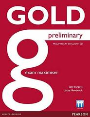 Gold NEd Preliminary Maximiser without Key+online Class CDs