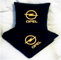 Плед в чехле с логотипом Opel