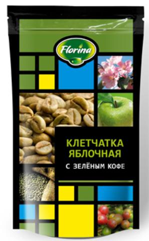 Клетчатка Флорина Яблочная с зеленым кофе 150г