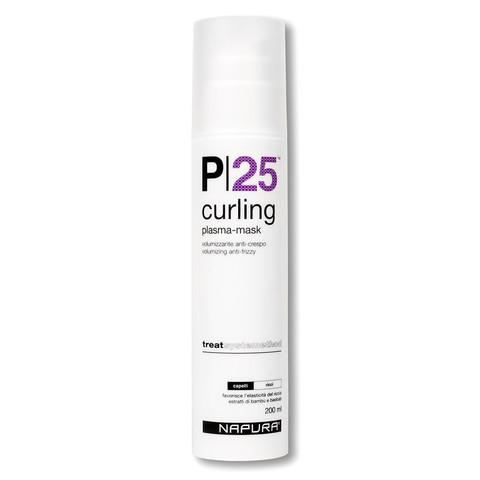 NAPURA Curling P25 Plazma-mask  Плазма-маска для вьющихся волос 200 мл купить за 2750руб