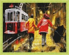 Aлмазная мозаика Последний трамвай