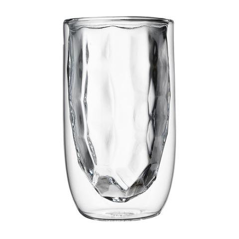 Набор стаканов QDO Elements Metal из 2 штук, 350 мл.