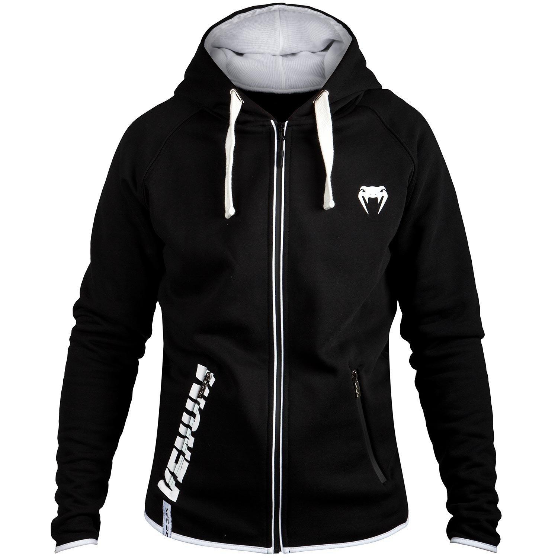 Толстовки/Олимпийки Толстовка Venum Contender 2.0 Hoody - Black/White 1.jpg