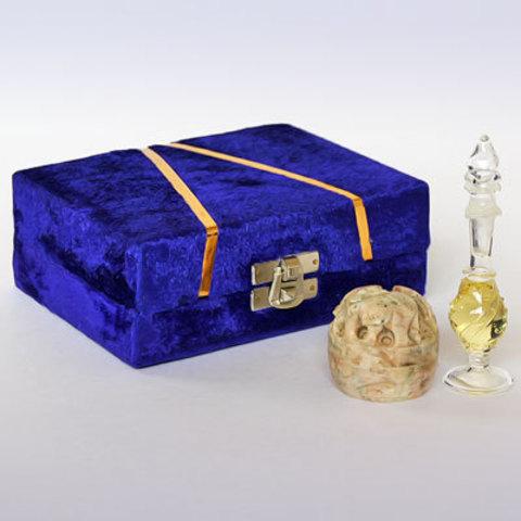 Подарочный набор R-Expo масло Опиум и сухие духи Сандал