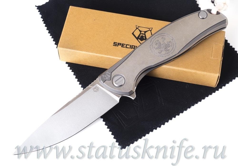 Нож Широгоров F95 Белый Тигр White Tiger Custom Division