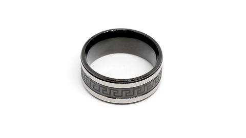 Кольцо из стали Carraji