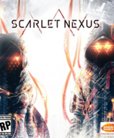 Плакат игровой Scarlet Nexus (А1)