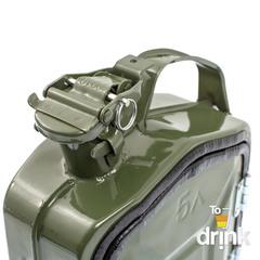 Бар-канистра «ГСМ» 5л, зеленая, фото 3