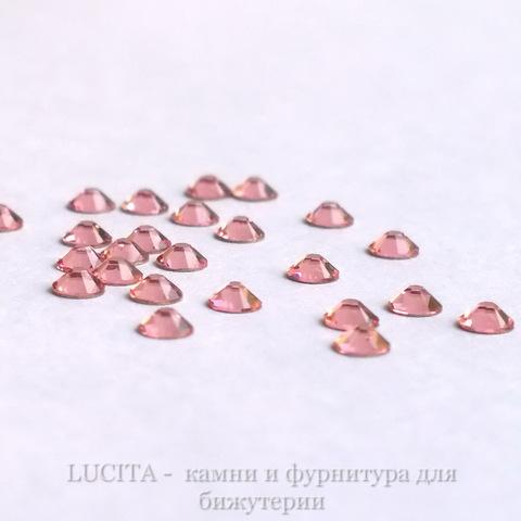 2028/2058 Стразы Сваровски холодной фиксации Light Rose ss12 (3,0-3,2 мм), 12 штук ()