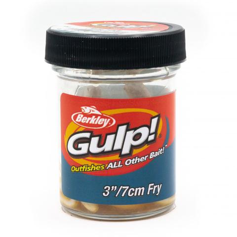 Приманка силиконовая Berkley Gulp Fry 8 см. Milky White (1404403) Имитация червя