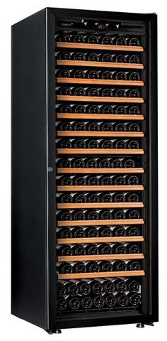 Винный шкаф EuroCave V-Prem-L стеклянная дверь, чёрная рама, максимальная комплектация