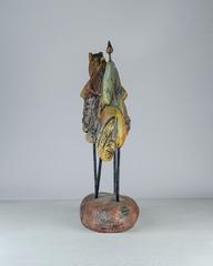Скульптура из шамотной глины «Сны о забытом», 44х35 см, Falco Ceramic