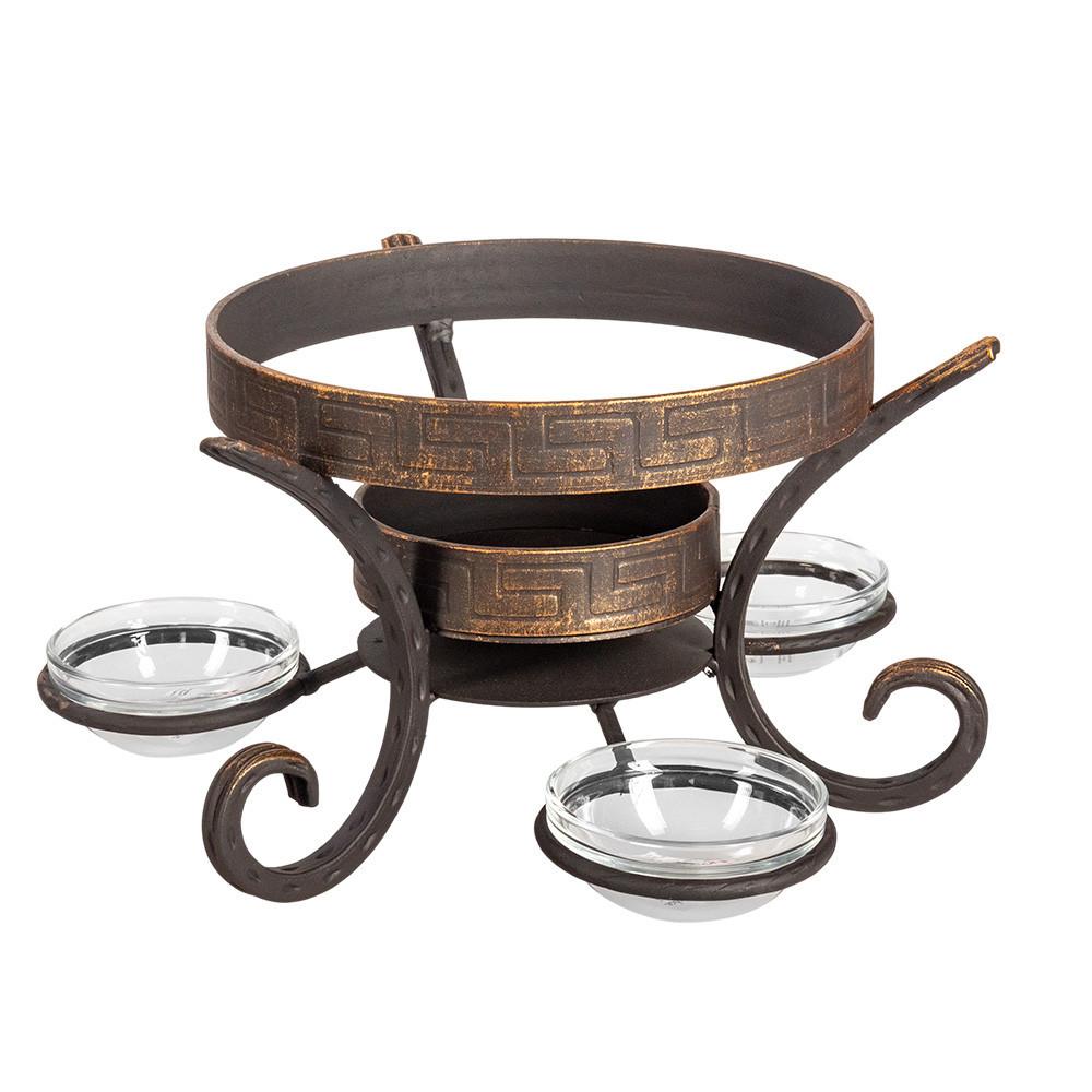 Посуда для подачи шашлыка Кованая подставка садж шёлковый путь премиум 883439421_w640_h640_883439421.jpg