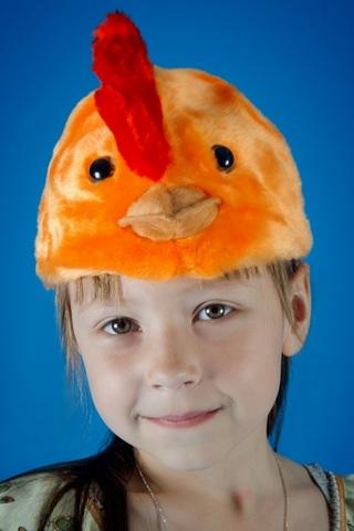 Карнавальная шапочка Цыплёнок