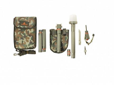 Лопата многофункциональная Woodland Survival Kit 24 в 1