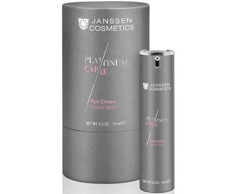 JANSSEN COSMETICS Реструктурирующий крем для глаз с пептидами и коллоидной платиной | Eye Cream