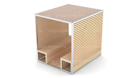 Скамейка с навесом SCAM0104