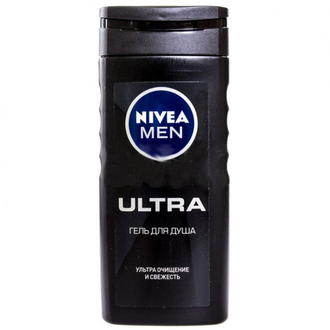 Duş geli \ Гель для душа Nivea Men Ultra мужской с натуральной глиной 250 мл
