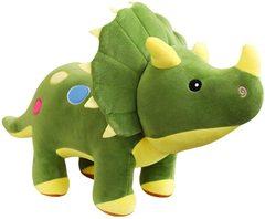 Динозавр большая мягкая игрушка Трицератопс