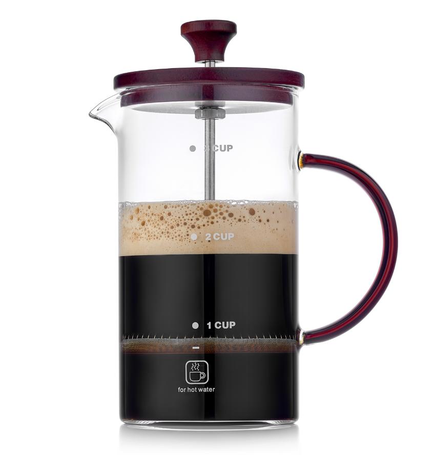 Заварочные стеклянные чайники Чайник-кофейник френч пресс 700 мл, стеклянный 7-001-800-teastar.PNG