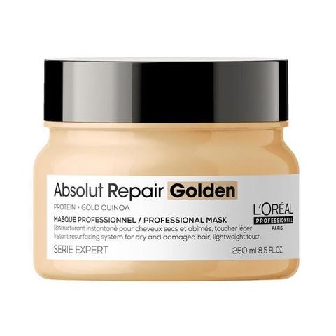 L'Oreal Professionnel Absolut Repair: Маска для восстановления волос с гелевой золотой текстурой (Absolut Repair Golden Masque), 250мл/500мл