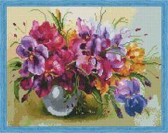 Aлмазная мозаика Летние цветы