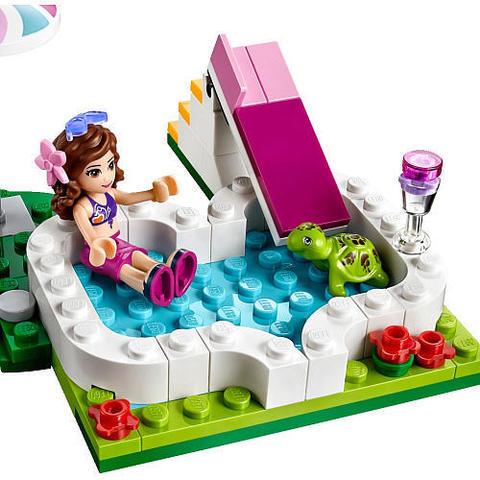 LEGO Friends: Маленький бассейн Оливии 41090 — Olivia's Garden Pool — Лего Френдз Друзья Подружки