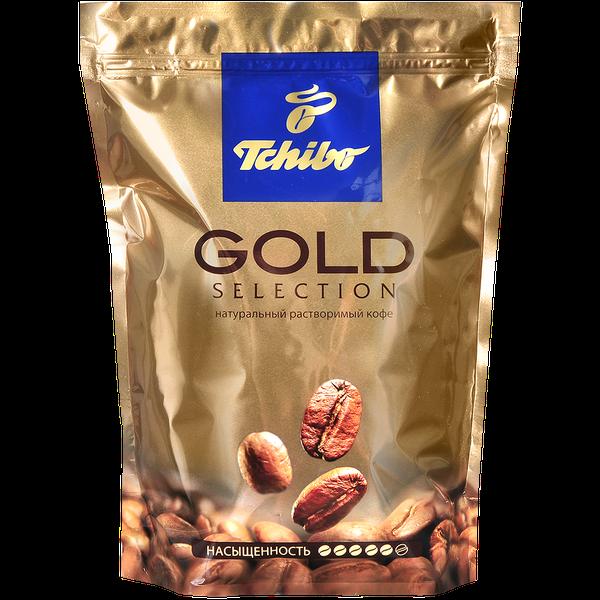 Кофе растворимый Tchibo Gold Selection, пакет 285 г