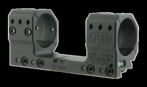 Тактический кронштейн SPUHR D35мм на Picatinny, H30мм, без наклона (SP-5001)