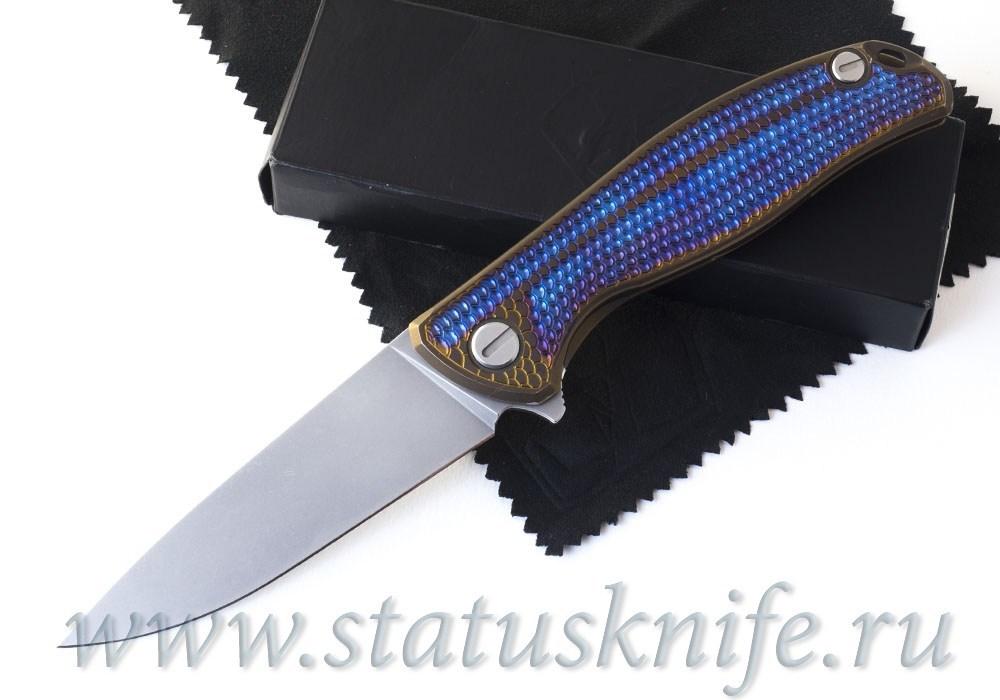 Нож Широгоров Флиппер 95 Горыныч Elmax Фиолет