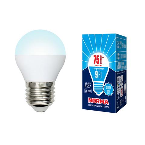 LED-G45-9W/NW/E27/FR/NR Лампа светодиодная. Форма