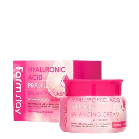 Балансирующий гиалуроновый крем от FarmStay Hyaluronic Acid Premium Balancing cream