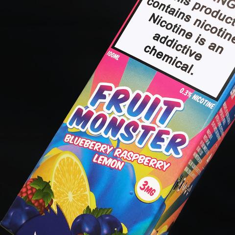FRUIT MONSTER Blueberry Raspberry Lemon