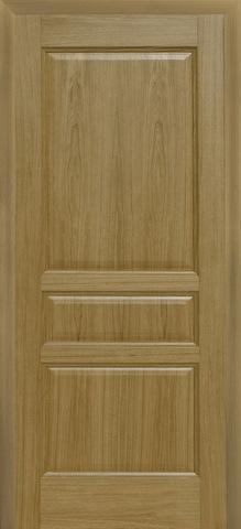Дверь Анастасия ПГ (дуб, глухая шпонированная), фабрика LiGa