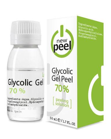 Гликолевый пилинг 70% / NEW PEEL Glycolic Gel-Peel 70% Level 3, 50 ml
