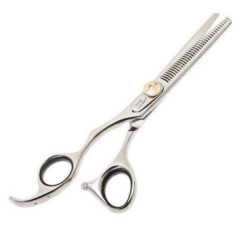 Филировочные ножницы Olivia Garden Silkcut 635 для левши