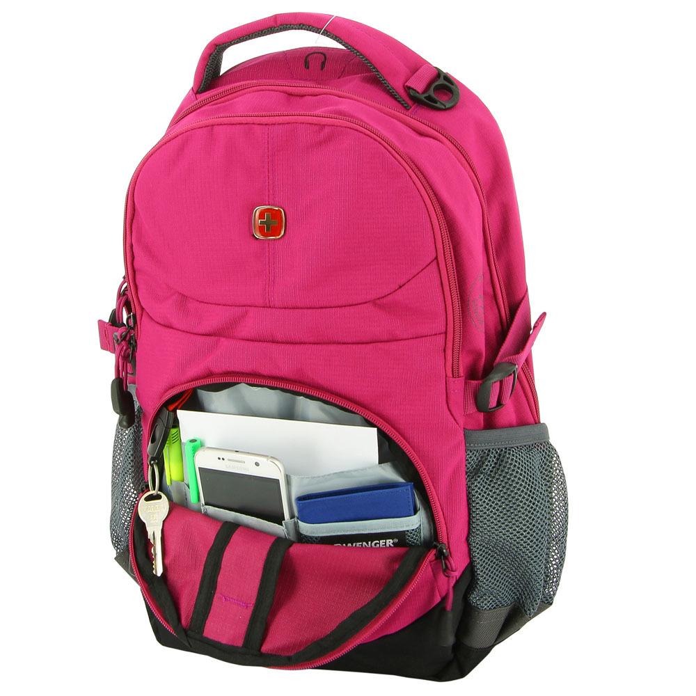 Рюкзак WENGER, цвет розовый, 22 л., 45х33х15 см., 2 отделения (3001932408) - Wenger-Victorinox.Ru
