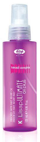 Ultimate Масло для выпрямления вьющихся волос «Lisap Ultimate Keratin Oil Plus» (120 мл)