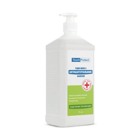 Рідке мило з антибактеріальним ефектом Алое вера-Чайне дерево Touch Protect 1 L (1)
