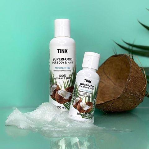 Кокосова олія косметична Coconut Oil Tink 30 мл (2)
