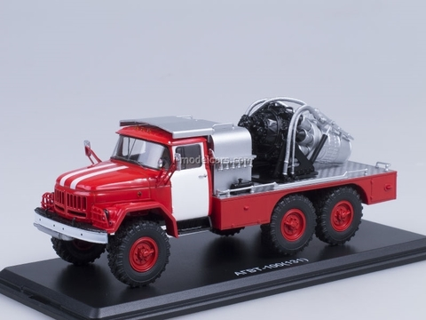 ZIL-131 AGVT-100 fire engine unprinted Start Scale Models (SSM) 1:43