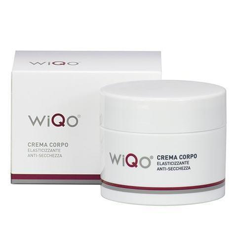 Крем для тела с гликолевой кислотой, повышающий эластичность, омолаживает и предупреждает растяжки во время беременности WiQo, 200 мл