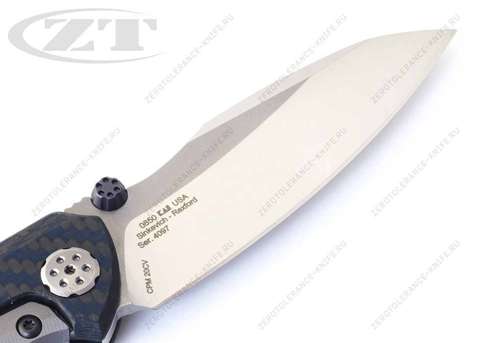Нож Zero Tolerance 0850 Sinkevich Rexford - фотография