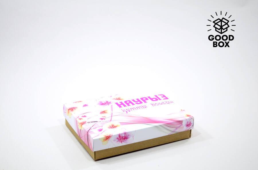 Розовые коробки на Наурыз купить недорого в Алматы