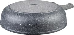Сковорода глубокая 28см МРАМОР  антипригарное покрытие, съемная ручка, без крышки (10) DECO-DARIIS HUR-A-111 DMВ
